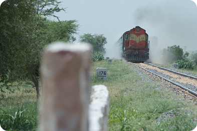 Jaisalmer by Train