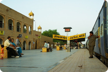 Trains from Jodhpur to Jaisalmer
